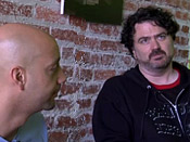 Jace Hall and Tim Schafer