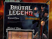 Official Brutal Legend Site